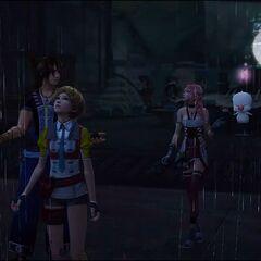 Alyssa frees Serah and Noel from captivity.