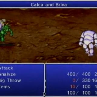 Calca and Brina.