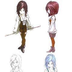 Various concept artwork.