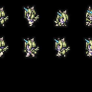 Set of Eiko's Trance sprites.