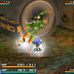 Attack used if picked up by the player.