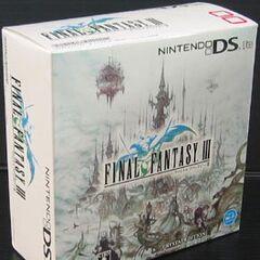 Японский бандл Crystal Edition DS Lite.