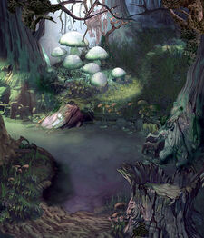 Evil Forest Swamp by Forero and Team