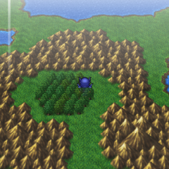 A Chocobo Forest on the world map (PSP).
