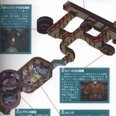 Render of Chateau Leblanc from <i>Final Fantasy X-2 Ultimania Omega</i>.
