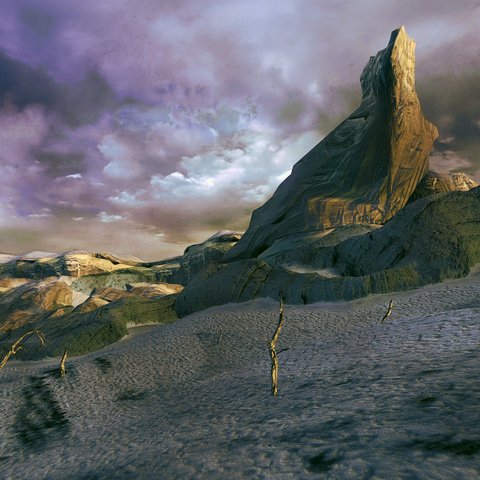 The Dead Sand.
