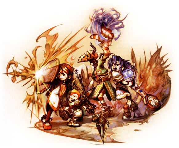 File:Crystal Chronicles Battle Artwork.jpg