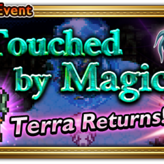 Touched by Magic's global event banner.