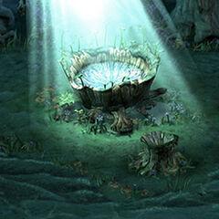 Evil Forest Healing Spring.
