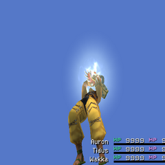 Petrify version in <i>Final Fantasy X</i>.