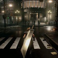 Buster Sword in the <i>Final Fantasy VII</i> remake.