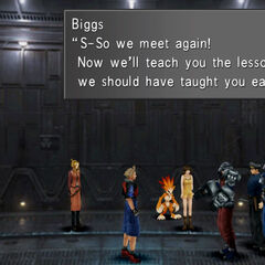Biggs and Wedge in-game.