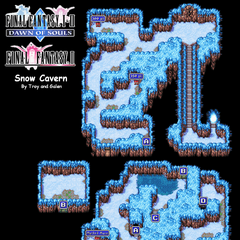 Snow Cave's Map (PSP).