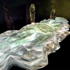 Crystal World battle background.