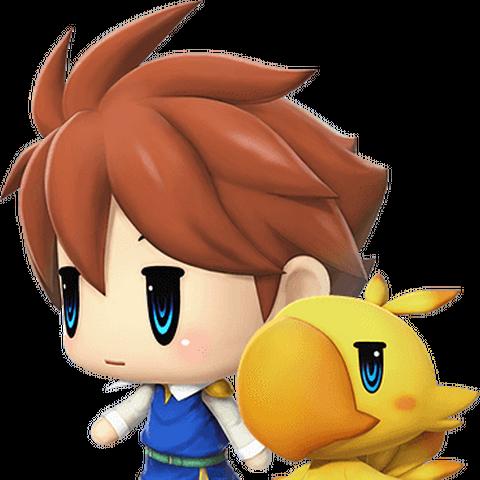 Bartz in <i>World of Final Fantasy</i>.