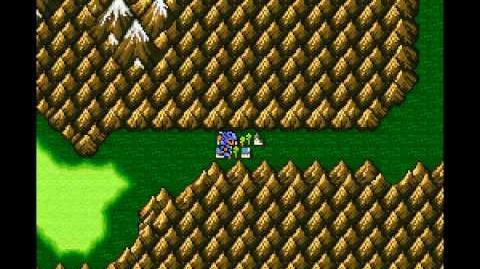 Final Fantasy II (US) IV - Sliding Glitch and Skipping Mist (SNES)