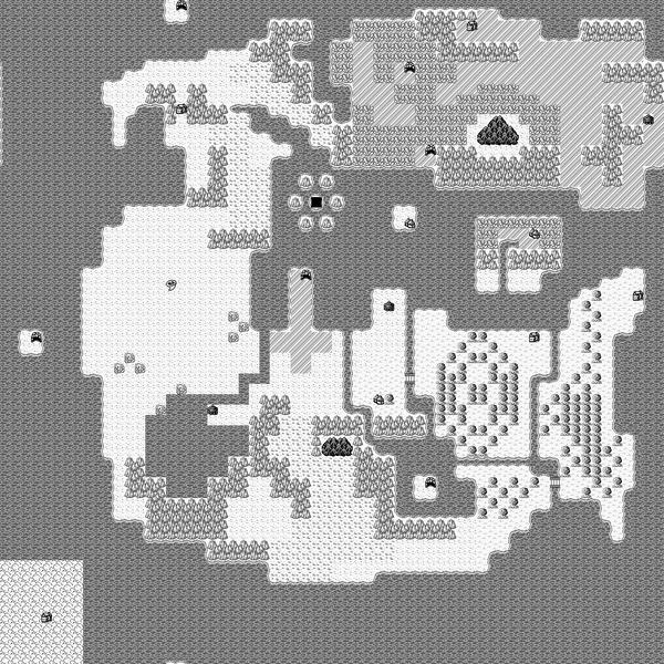 Pureland Overworld Map