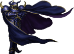 Golbez's boss battle sprite.