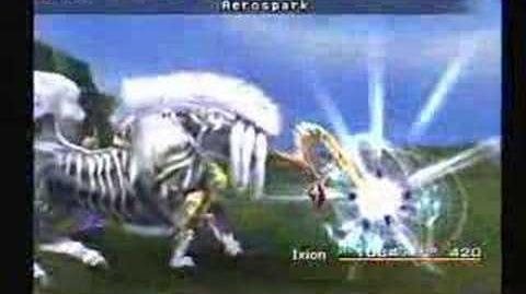 Final Fantasy X - Ixion - Aerospark & Thor's Hammer