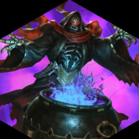 Hades (God) phantom stone.