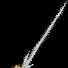The Warrior's sword.