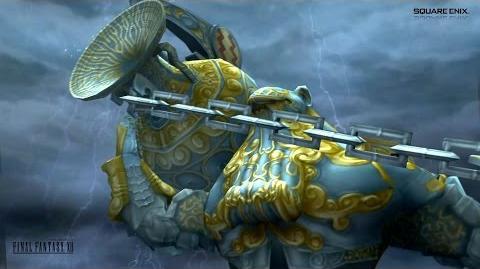 Final Fantasy XII - Famfrit, the Darkening Cloud (♒ Aquarius) 暗闇の雲ファムフリート Tsunami 大海嘯