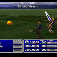 Mimett Greens in <i>Final Fantasy VII</i>.