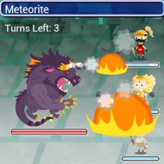 The Behemoth King using Meteorite in <i><a href=