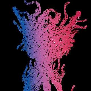 Logo art.