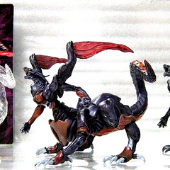 Ultimate Weapon figurines.