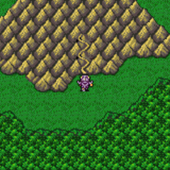 Mount Ordeals on the overworld (GBA).
