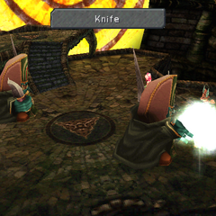 Knife used by the Ogre in <i><a href=