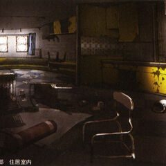 Interior art of Vanille and Fang's home.