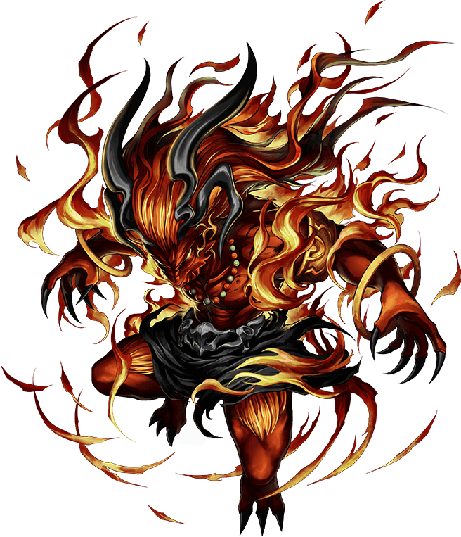 Image - FFBE Ifrit Artwork.png | Final Fantasy Wiki ...