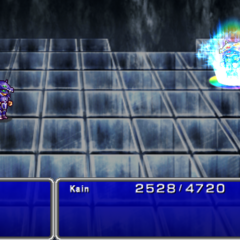X-Potion in-game (PSP).