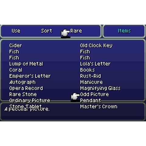 List of rare items (GBA).
