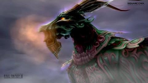 Final Fantasy XII - Adrammelech, the Wroth (♑ Capricorn) 憤怒の霊帝アドラメレク Judgment Bolt 裁きの雷