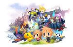 World of Final Fantasy Characters and Mega Mirage Summons.jpg