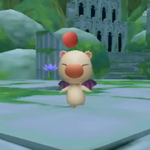 Moogle in <i>Rise of Mana</i>.