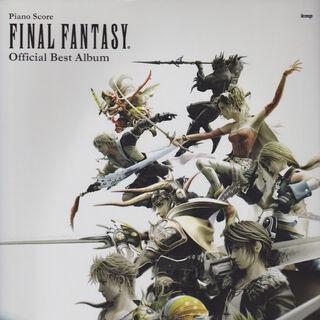 <i>Final Fantasy Official Best Album</i> series.