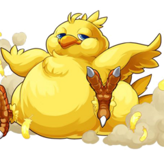 No.2051 Fat Chocobo.