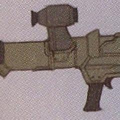Concept art of the Bazooka.