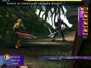 FFX Demo Tidus vs Kimahri