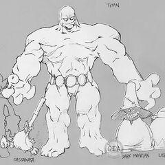 Early Titan concept.