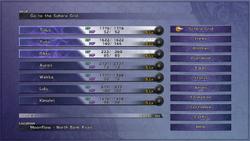FFX Main Menu PS3