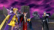Emperor ultimecia sephiroth dissidia