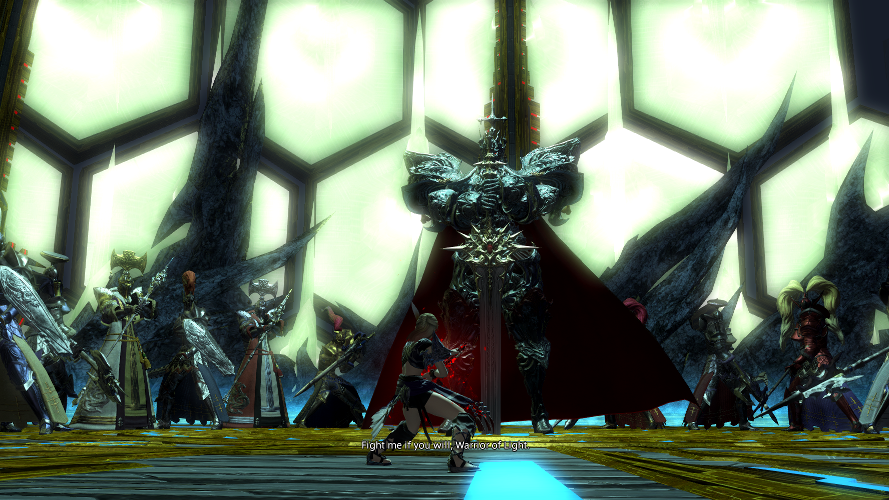 Knights Of The Round Table Wiki Image Ffxiv Wol Vs Knights Of The Roundpng Final Fantasy Wiki