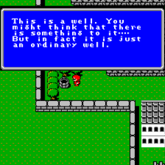 Cornelia's ordinary well (NES).
