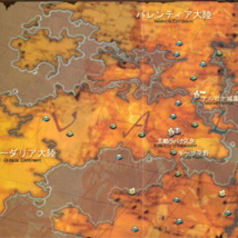 Erroneous Ivalice map as assembled by a fan.