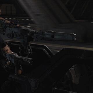 Bandit's gun turret